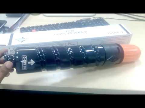 Canon imageRunner 2520 2525 2530 2535 toner replacement