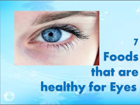 7 foods that improve eyesight and vision