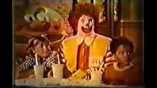 Old McDonalds Commercials 1970