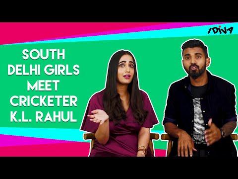 iDIVA - South Delhi Girls Meet Cricketer K.L. Rahul