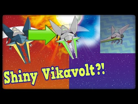 Pokemon Sun and Moon! How to get a SHINY VIKAVOLT in your PokeDex!