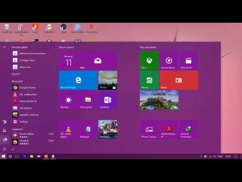 how to block control panel and settings in window 10