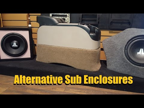Bass in TIGHT Space (Alternative sub woofer Enclosures)