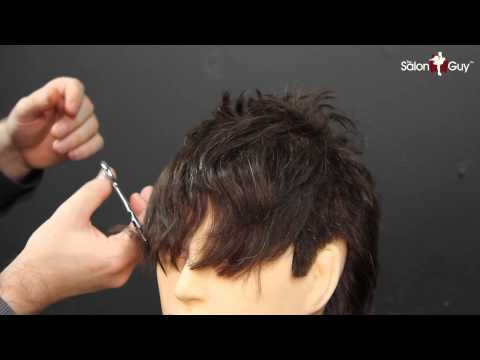How to Cut Men's Bangs