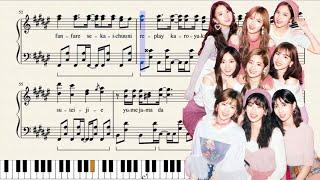 Fanfare (TWICE) - Intermediate Piano Score