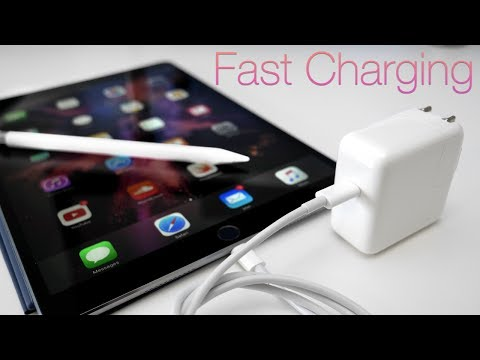 How To Fast Charge iPad Pros