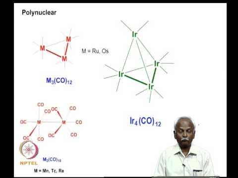 Mod-02 Lec-02 Metal carbonyl complexes