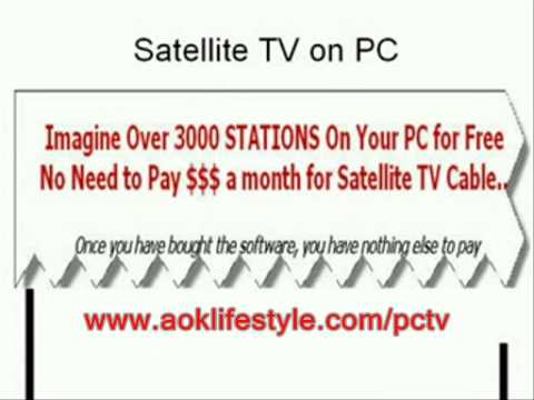 Get Satellite Tv For Your Computer Now