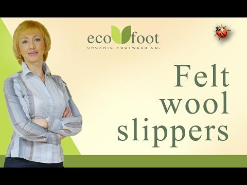 Workshop: Felt wool slippers