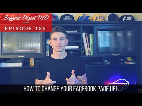 How To Change Your Facebook Page URL - Social Media Marketing