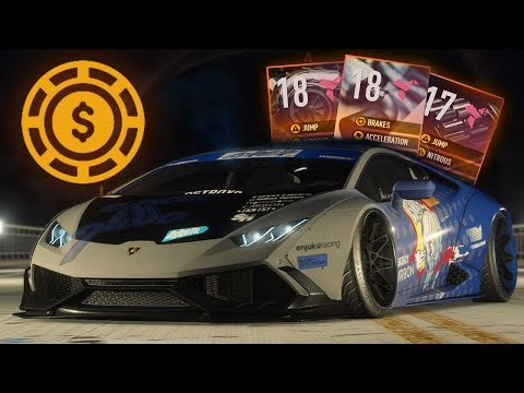 Need for Speed Payback how to get money, parts and rank up fast
