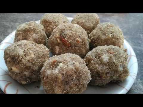 Wheat flour Laddu with dry fruits (using jaggery and gond) || By - Hemlata Kumawat