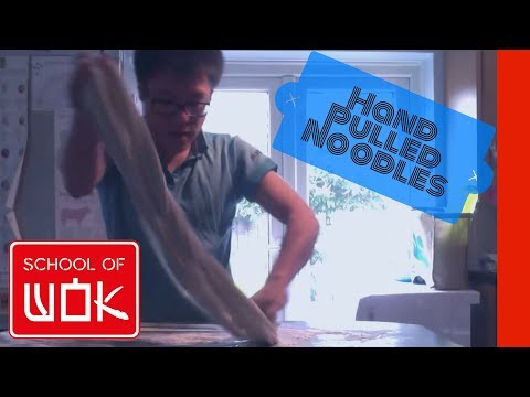How to Make Hand Pulled Noodles