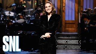 Natalie Portman Announcer Monologue - SNL