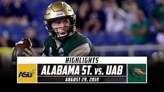 Alabama State vs. UAB Football Highlights (2019) | Stadium