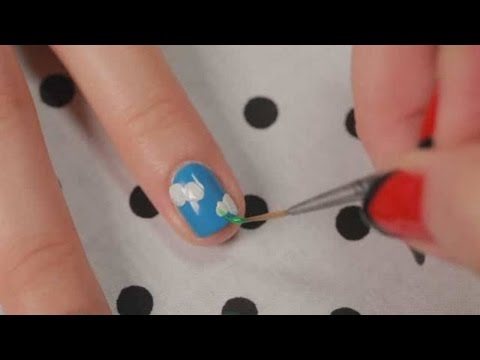 How to Create a Wildflowers Design | Nail Art