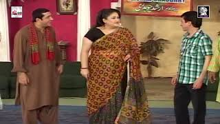 TAHIR NUSHAD KE 4 HARAMI PUTTAR ZAFRI KHAN - LATEST COMEDY STAGE DRAMA CLIP - HI-TECH PAKISTANI