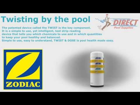 Zodiac Twist and Dose pool testing system - Direct Pool Supplies