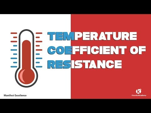 Temperature coefficient of Resistance | How to calculate for temperature coefficient of resistance