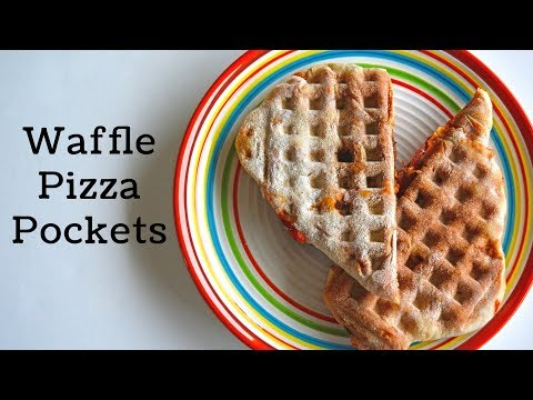 How to Make Pizza Pockets in a Waffle Iron