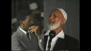 Was Jesus GOD?  A 2 1/2 hours of lecture and QA session with Sheikh Ahmed Deedat