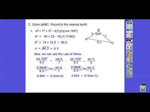 Law of Cosines - Module 17.3