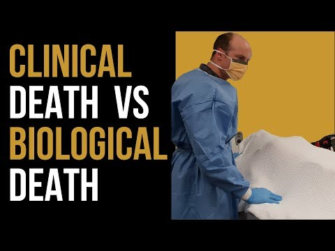 What is Clinical vs Biological Death, and WHEN can Organ Donations commence?