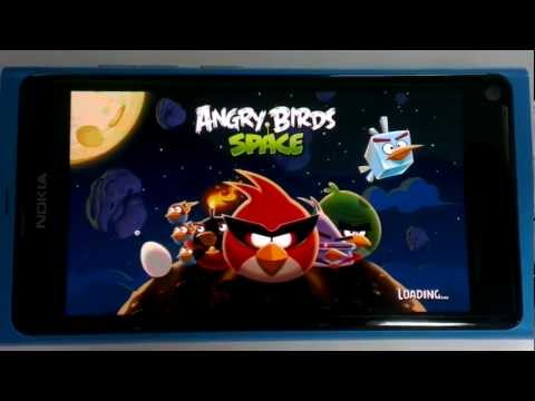 Angry Birds Space (From Android Apps .apk) run on Nokia N9 MeeGo Harmattan