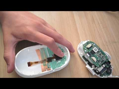 How to clean Apple mighty mouse scroll ball