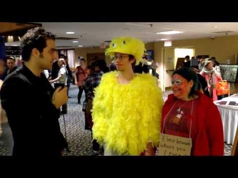 Hal-Con 2013 Interviews: Big Bird and Evil Elmo