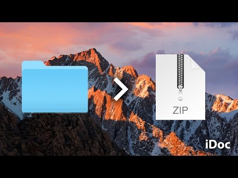 How to ZIP (Compress) Files on a Mac
