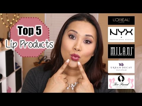 Top 5 Lip Products/Brands | Collab with Tara Michelle