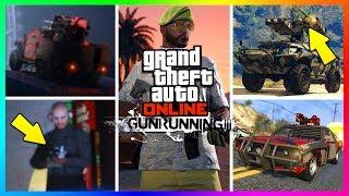 GTA ONLINE GUNRUNNING DLC UPDATE NEW DETAILS/INFO QNA - TRAILER RELEASE, $7,000,000 VEHICLES & MORE!