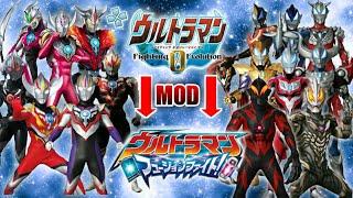 Ultraman Fe0 Mod Ppsspp 30fps Download Link