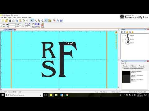 Creating Stacked Monograms Using Embrilliance Essentials