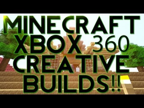 Minecraft (Xbox 360) : Ep.2 Creative Mode builds!