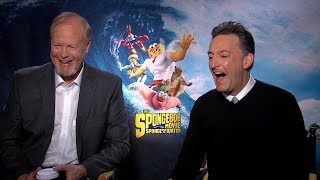 SpongeBob: Funny interview with voices of SpongeBob & Patrick Star | Tom Kenny & Bill Fagerbakke