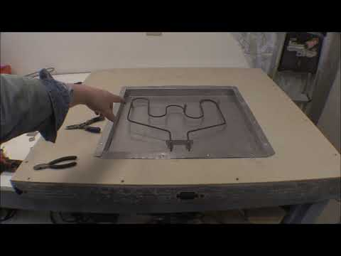 Powder Coat Oven Build-inside sheeting and heat elements