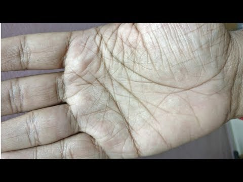 Very lucky male hand. बहुत भाग्यशाली.palmistry reading in hindi.