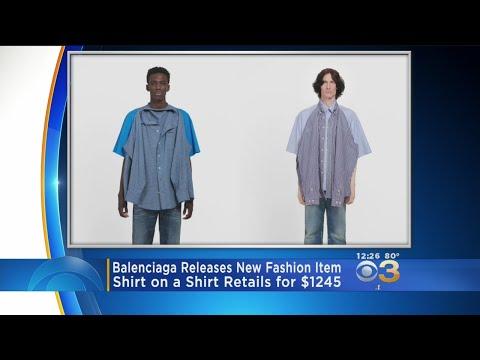 Balenciaga Releases T-Shirt On Shirt For $1245