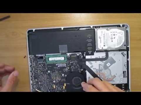 How to clean up Macbook pro noisy fan