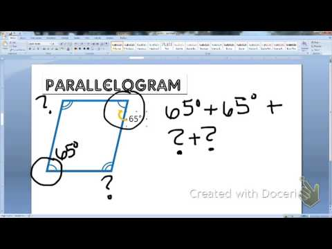 Finding Missing Angles in a Quadrilateral