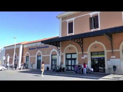 Bus tickets to cruise port, Civitavecchia train station