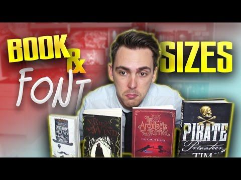 Writing Tips   Choosing a Book & Font Size
