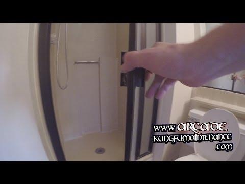 Shower Door Cam Wheels Fitting And Adjusting Glass Shower Door