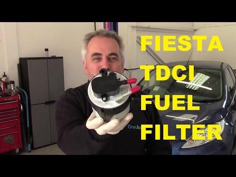 Ford Fiesta 1.6 TDCI Diesel Fuel Filter (2008 on)