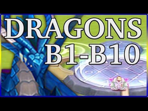 Summoners War: Ultimate Dragons Lair Guide B1,B2,B3,B4,B5,B6,B7,B8,B9,B10