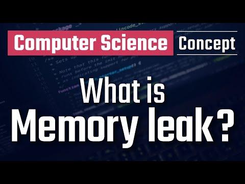 What is memory leak?