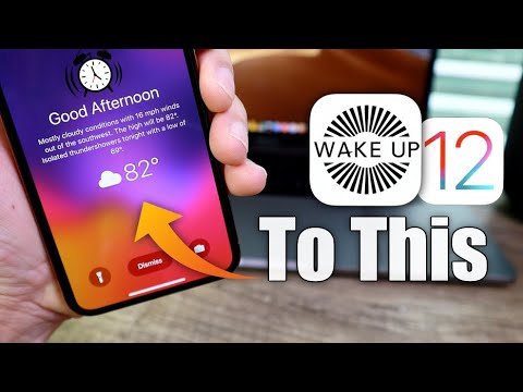 How to Activate this Beautiful Weather widget on the Lock Screen of your iPhone
