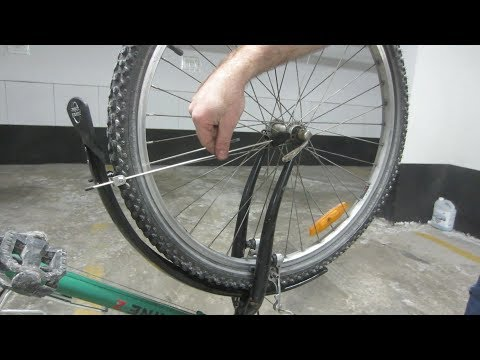 How to Install Fenders on a Bicycle